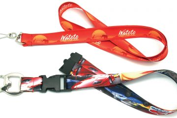 Dye Sublimation Printing on Lanyard Makes the Prints Last for a really Long Time